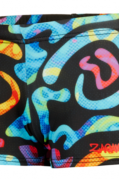 Boys' swimming trunks colourful 140 2821