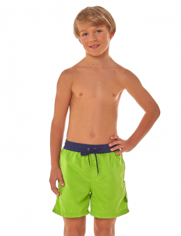Boys' shorts green 06 2614