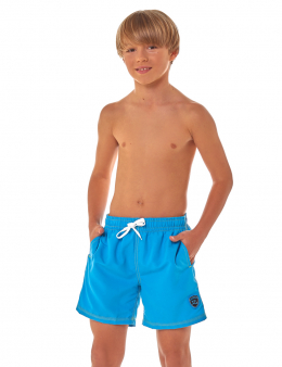 Boys' shorts light blue 06 2616